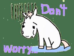 Pony Riders English version sticker #2498777