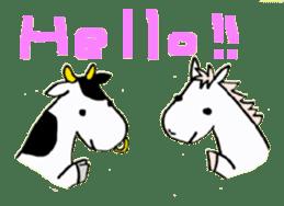 Pony Riders English version sticker #2498780