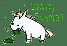 Pony Riders English version sticker #2498783