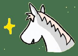Pony Riders English version sticker #2498784