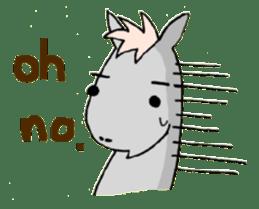 Pony Riders English version sticker #2498786