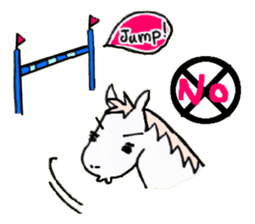 Pony Riders English version sticker #2498793
