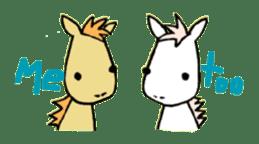Pony Riders English version sticker #2498796