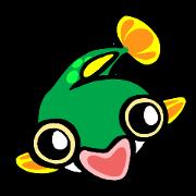สติ๊กเกอร์ไลน์ In the aquarium <Tetraodon boy>