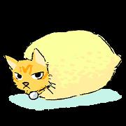 สติ๊กเกอร์ไลน์ KYAN is a cat of share house.