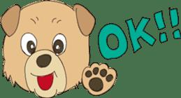 Kung Fu Dog sticker #2512786