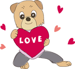 Kung Fu Dog sticker #2512804