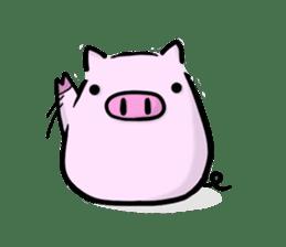 pig2 sticker #2513609