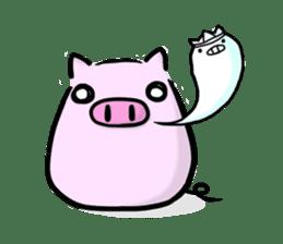 pig2 sticker #2513625