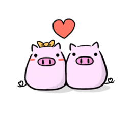 pig2 sticker #2513631
