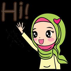 Jihab - Muslim Style Stickers - (EN)