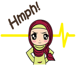 Jihab - Muslim Style Stickers - (EN) sticker #2513978