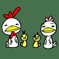 kokekokeshi sticker #2522343
