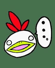 kokekokeshi sticker #2522352