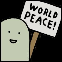Lard Wants World Peace!