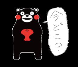 Kumamon by AT-network sticker #2525654
