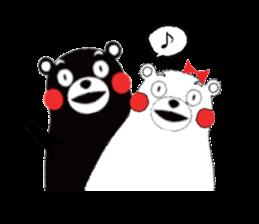 Kumamon by AT-network sticker #2525662