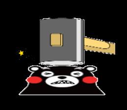 Kumamon by AT-network sticker #2525679