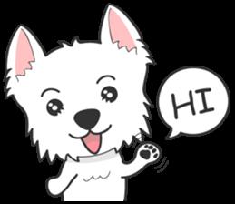 West Highland White Terrier.part 2 sticker #2526366
