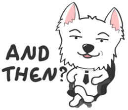 West Highland White Terrier.part 2 sticker #2526371