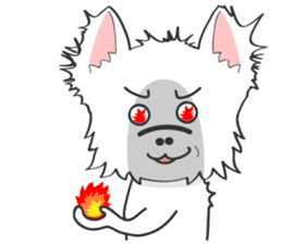 West Highland White Terrier.part 2 sticker #2526373