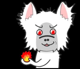 West Highland White Terrier.part 2 sticker #2526373