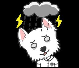 West Highland White Terrier.part 2 sticker #2526375
