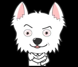 West Highland White Terrier.part 2 sticker #2526377