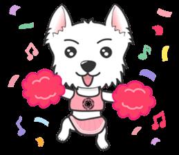 West Highland White Terrier.part 2 sticker #2526383