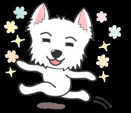West Highland White Terrier.part 2 sticker #2526384