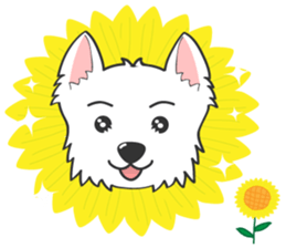 West Highland White Terrier.part 2 sticker #2526385