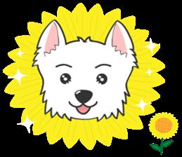 West Highland White Terrier.part 2 sticker #2526385