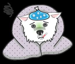 West Highland White Terrier.part 2 sticker #2526389