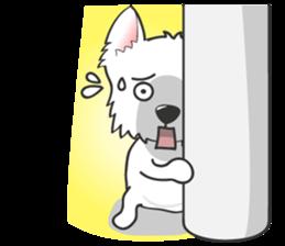 West Highland White Terrier.part 2 sticker #2526393