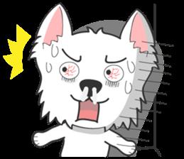 West Highland White Terrier.part 2 sticker #2526394