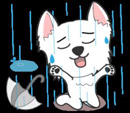 West Highland White Terrier.part 2 sticker #2526395