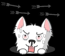 West Highland White Terrier.part 2 sticker #2526397