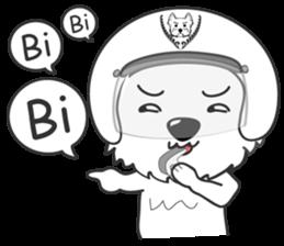 West Highland White Terrier.part 2 sticker #2526399