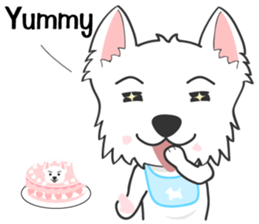West Highland White Terrier.part 2 sticker #2526401