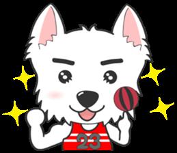 West Highland White Terrier.part 2 sticker #2526404