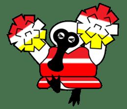 PumPum , the fat Black-faced Spoonbill sticker #2532908