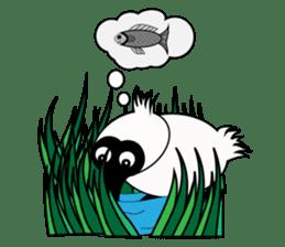 PumPum , the fat Black-faced Spoonbill sticker #2532923