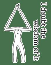 body man(Eng ver.) sticker #2535060