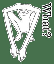 body man(Eng ver.) sticker #2535079