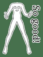 body man(Eng ver.) sticker #2535083