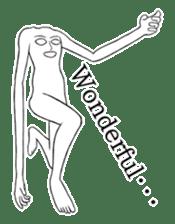 body man(Eng ver.) sticker #2535087