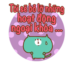 School Days(Vietnamese) sticker #2537800
