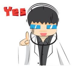 Doctor Nerd and Nurse Lucy sticker #2538514