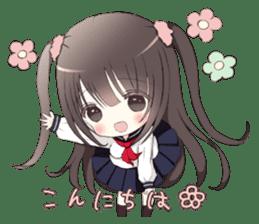 Milk, The Cute Junior High School Girl sticker #2541981
