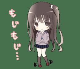 Milk, The Cute Junior High School Girl sticker #2541989